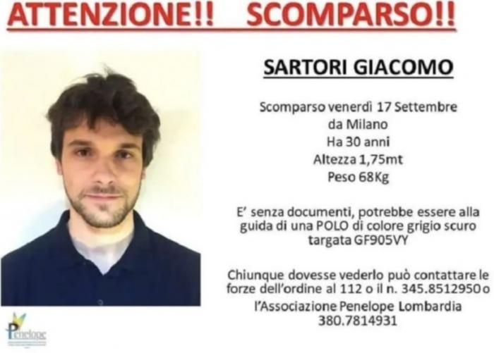 Tânăr informatician dispărut de o săptămână, găsit mort. Era atârnat de un stejar, lângă o fermă din Pavia, Italia