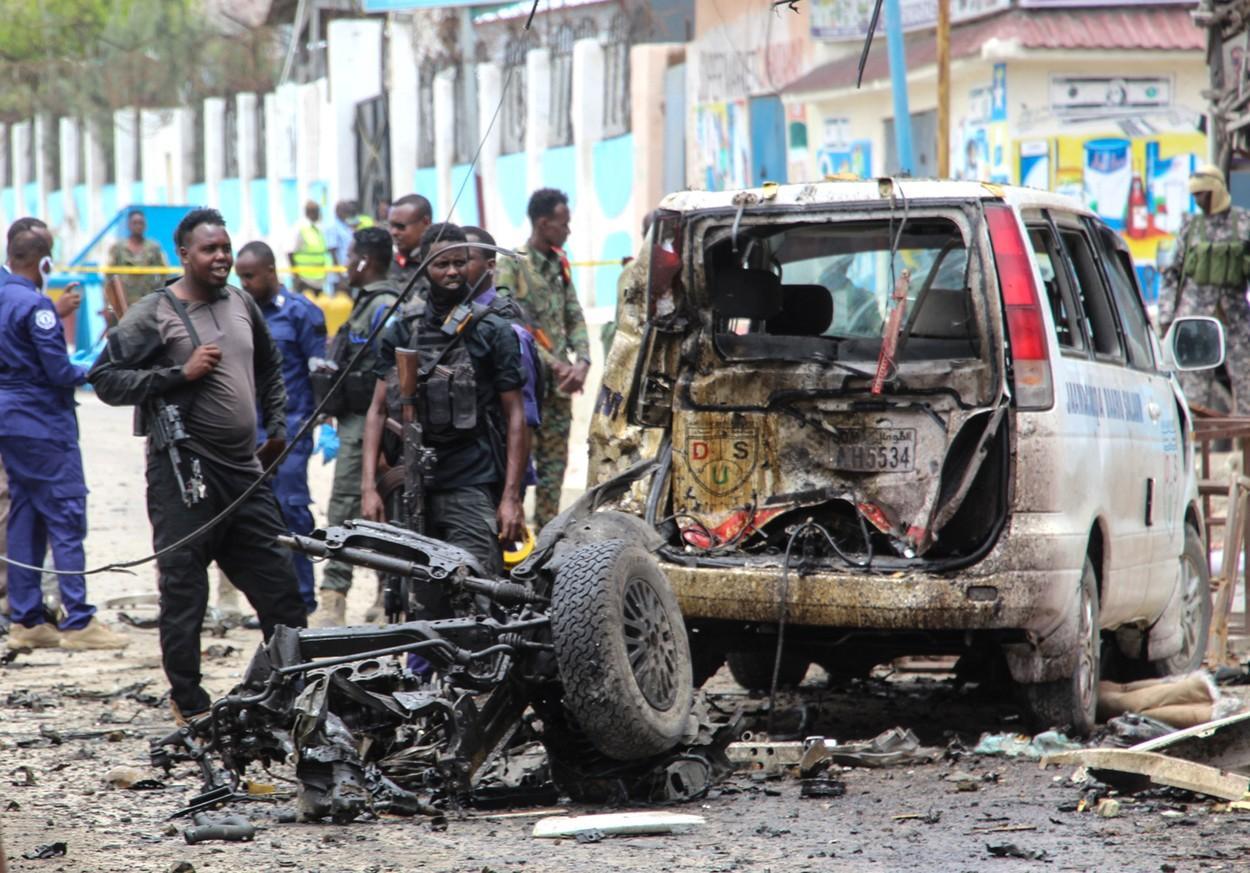 atac sinucigaș Somalia