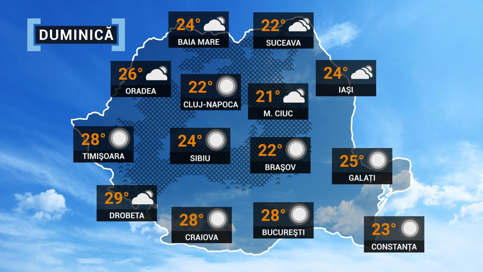 prognoza meteo 26 septembrie 2021