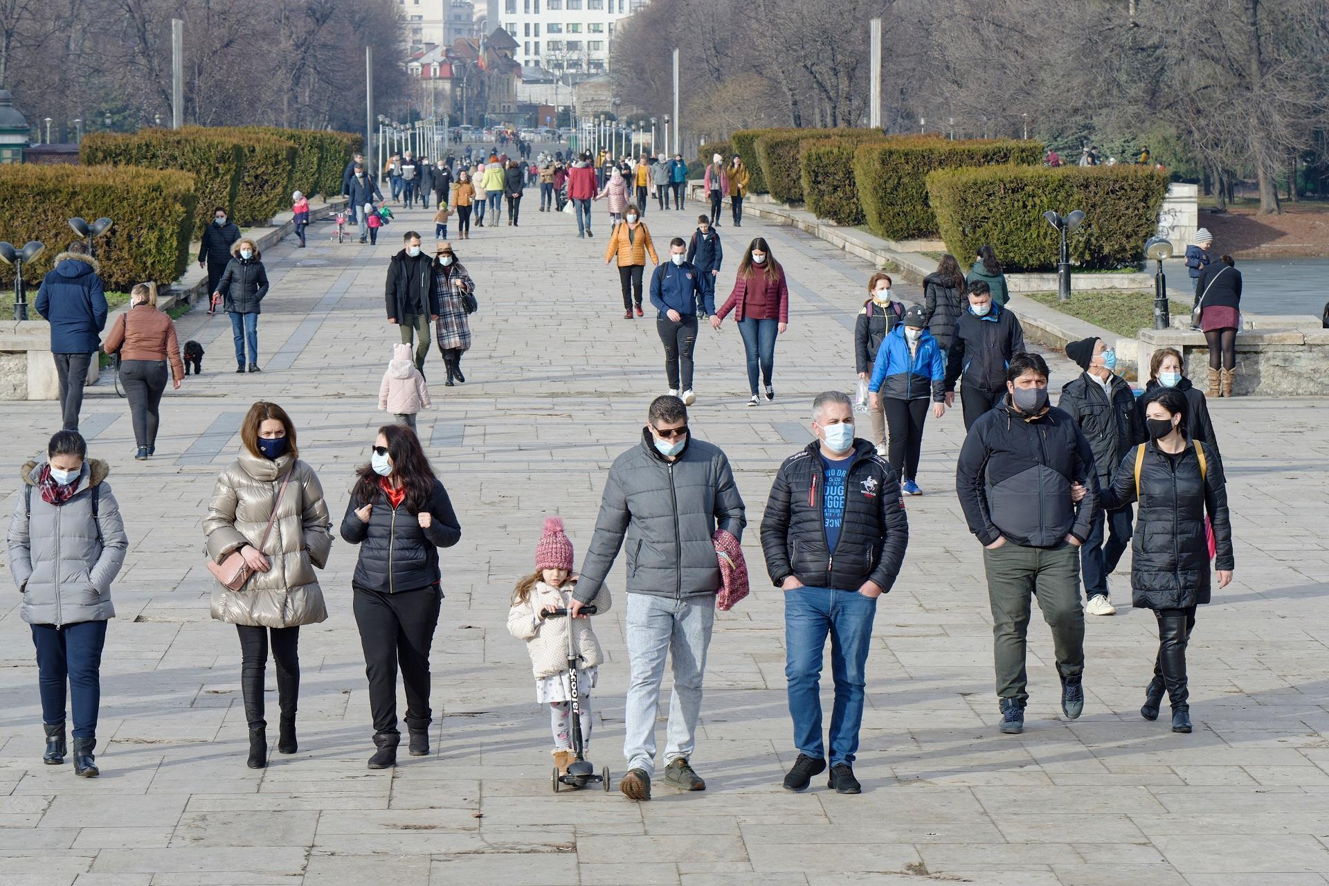 Rata de infectare în București a ajuns la 4,35 la mie
