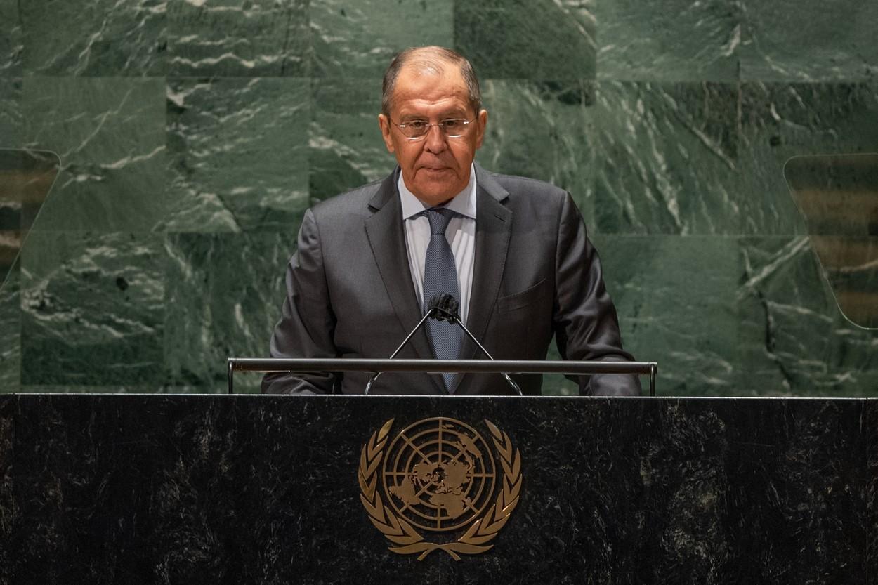 Ministrul rus de Externe, Sergei Lavrov