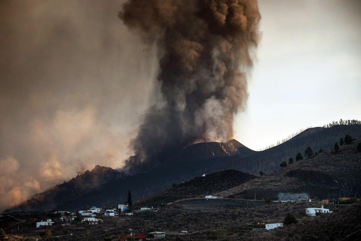 erupție vulcanică în Insulele Canare
