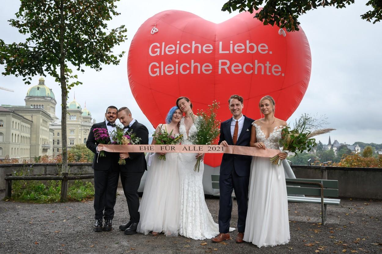 Referendum pentru căsătoriile între persoane de acelaşi sex, în Elveţia