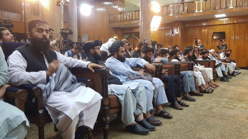 talibani la formarea noului guvern, august 2021