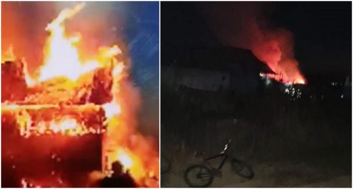 Un gorjean și-a incendiat casa, apoi s-a sinucis. Pompierii l-au găsit spânzurat în pod