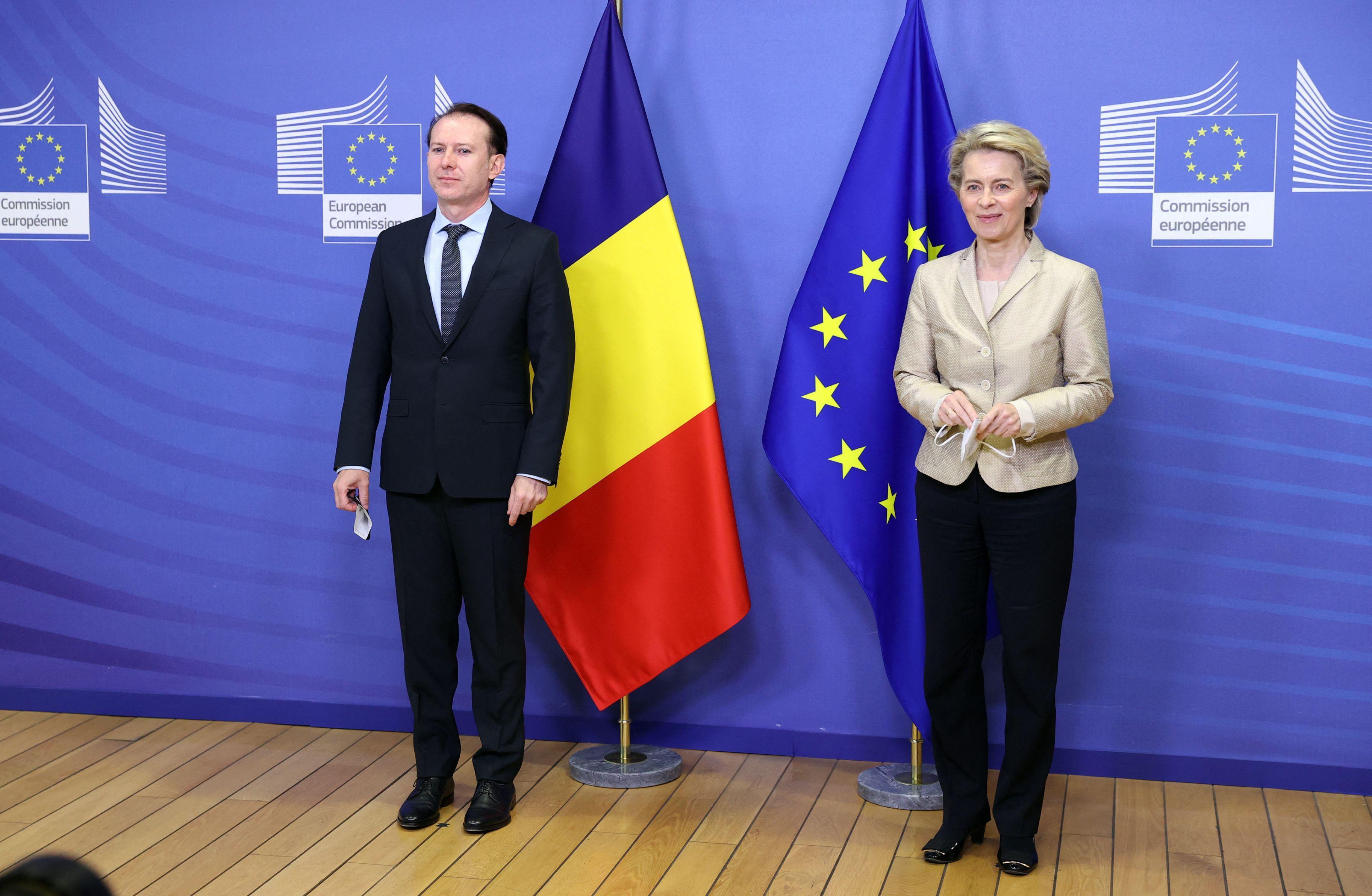 Ursula von der Leyen vine, luni, la Bucureşti pentru finalizarea procesului de evaluare a PNRR. Președinta Comisiei Europene se va întâlni cu Klaus Iohannis și Florin Cîțu