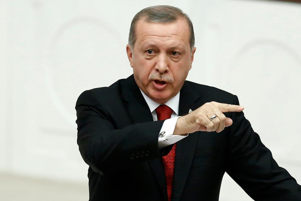 Pre;edintele turc, Recep Tayyip Erdogan.
