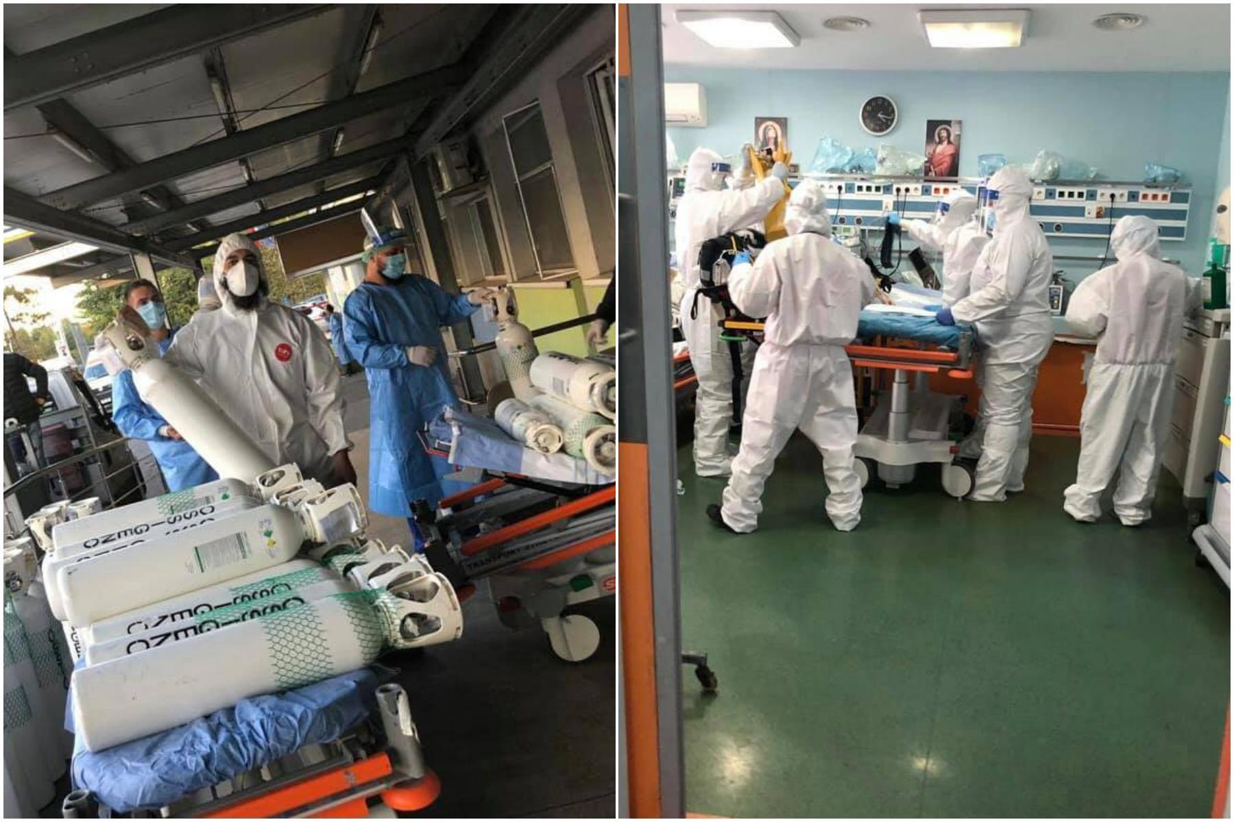 Duminică erau mai mulți pacienți care așteaptau un pat decât numărul de locuri din unitate