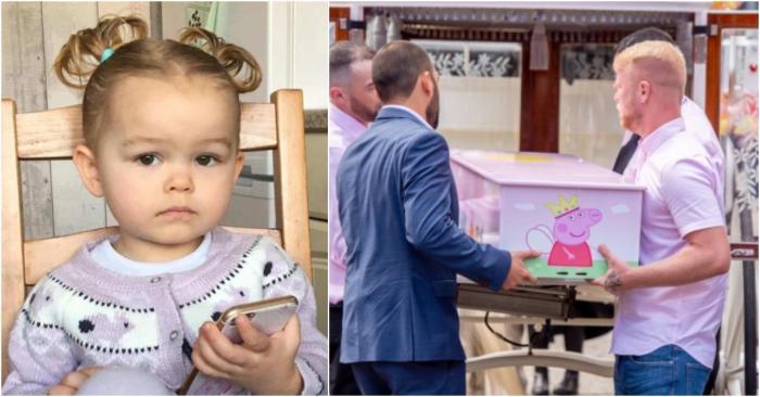 Lacrimi amare pentru o fetiţă de doi ani care a murit carbonizată