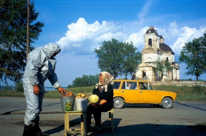 Muslyumovo, unul dintre oraşele puternic afectate de dezastrul de  la Kyshtym