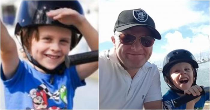 Durerea din glasul unui tată, înainte ca fiul de 9 ani să piardă bătălia cu o formă rară de cancer