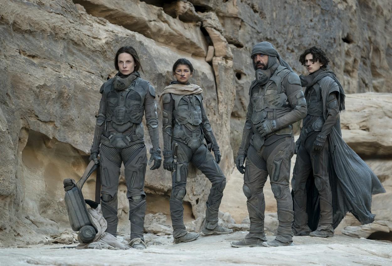 """Secvenţe din filmul """"Dune"""""""
