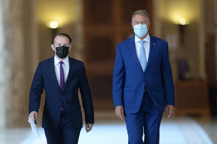 Florin Cîțu, chemat de președintele Iohannis la Cotroceni pentru a discuta despre criza din coaliție