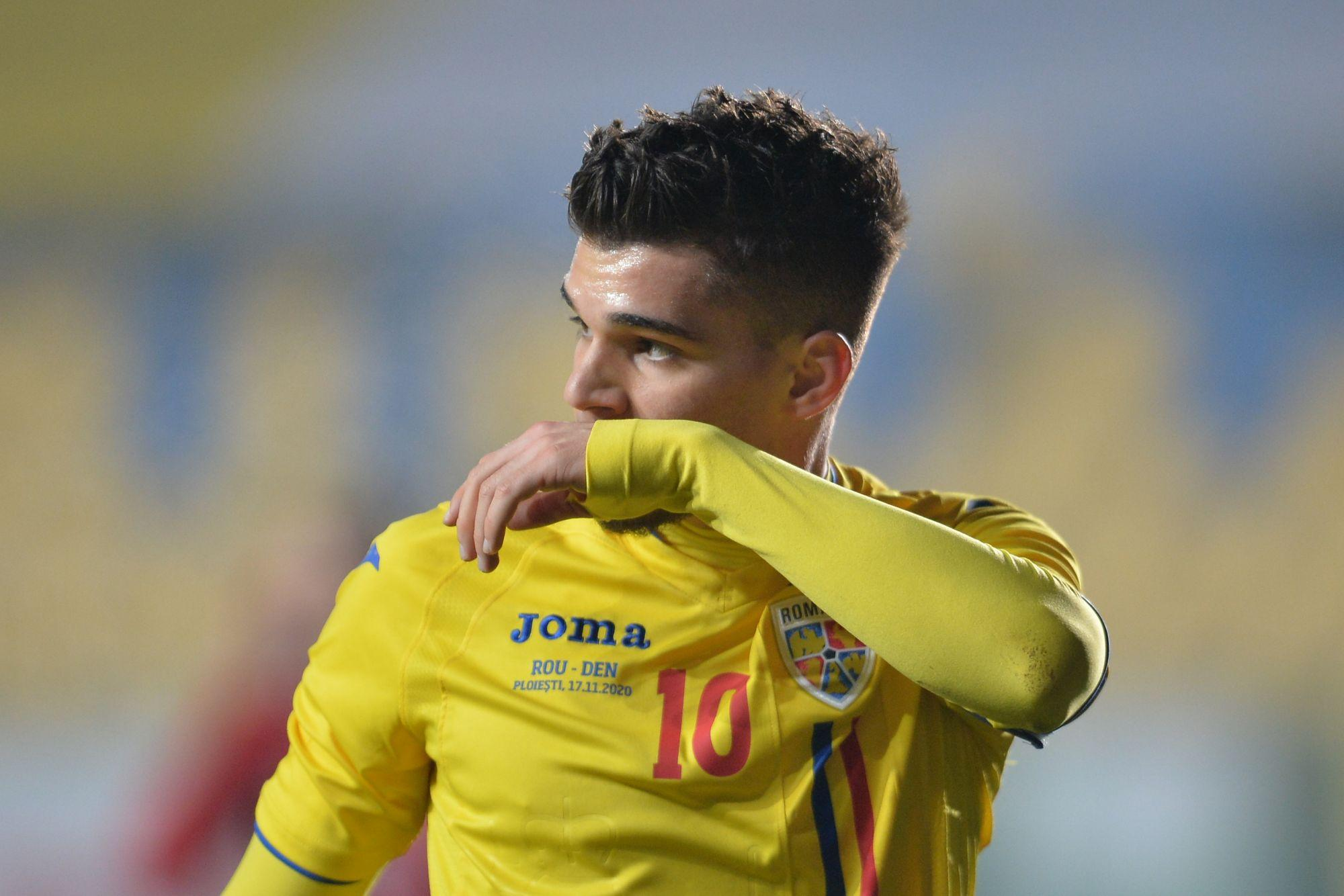 Ianis Hagi, testat pozitiv cu Covid-19, înaintea meciului cu Macedonia de Nord