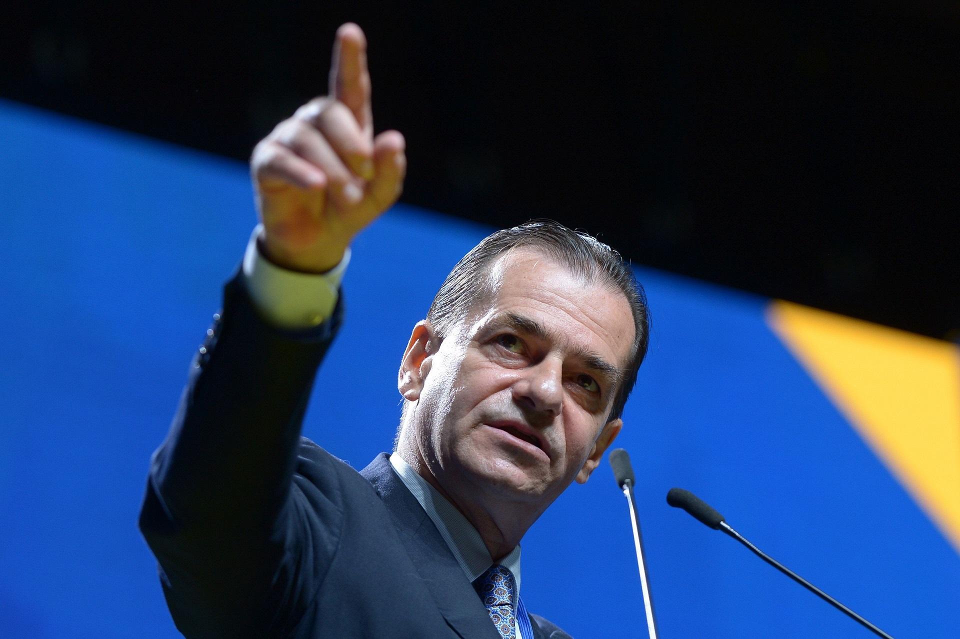 președintele PNL Ludovic Orban