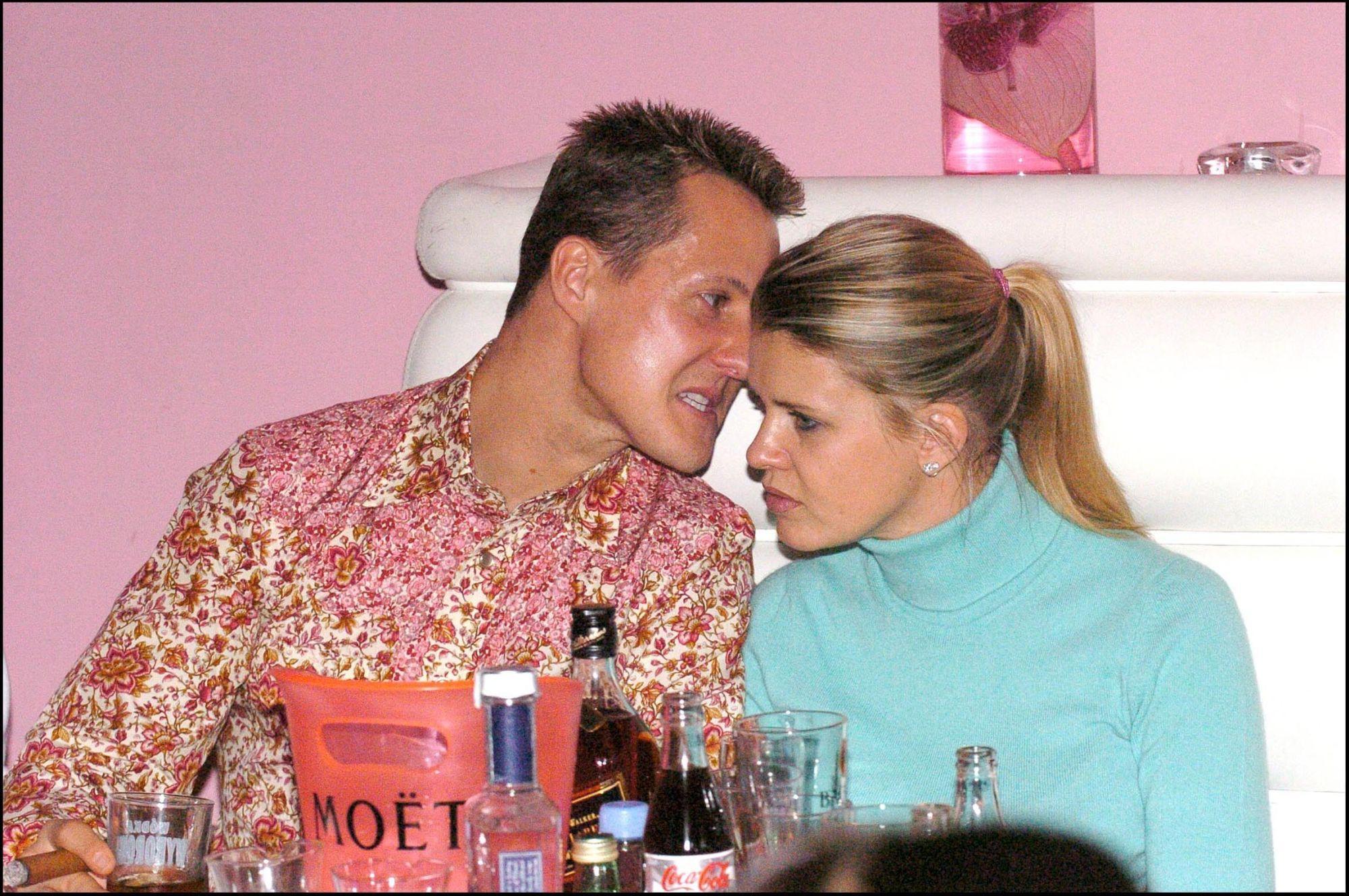 Michael Schumacher şi soţia lui, Corinna