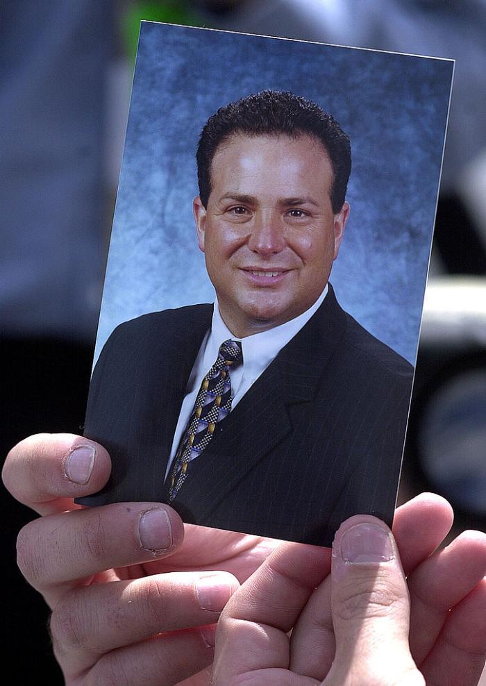 Fotografia lui Lou Nacke, care a murit în zborul 93 al United Airlines