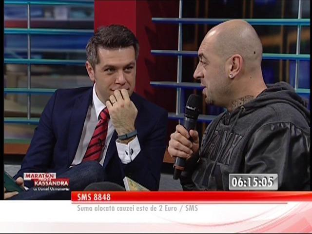 """CRBL, invitatul lui Daniel Osmanovici: """"Tatăl Kassandrei este un erou!"""""""