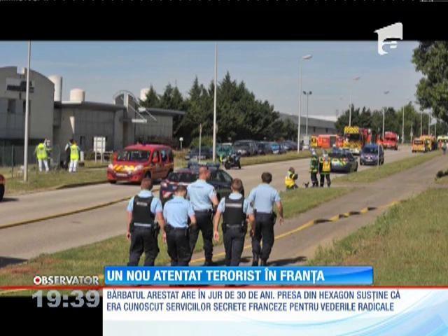 Victima atacului terorist din Franța este șeful celui care l-a ucis
