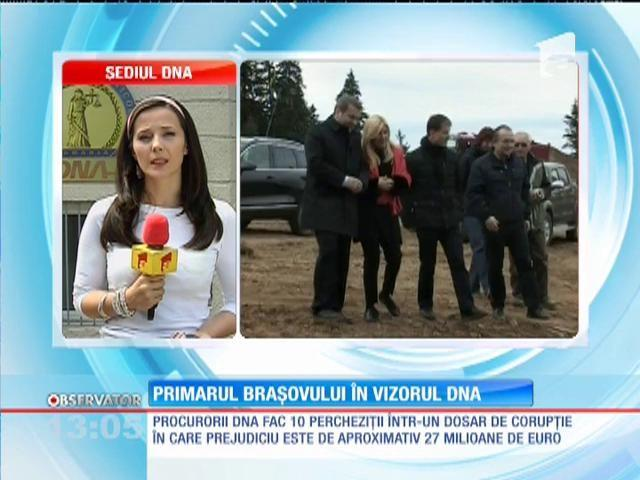 Percheziții DNA la Primăria Brașov