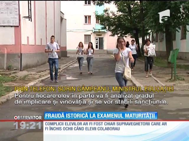 BAC 2015. FRAUDĂ MARE la examen!