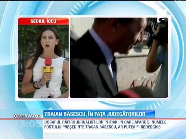 Vasile Blaga și Traian Băsescu, la Înalta Curte de Casație și Justiție