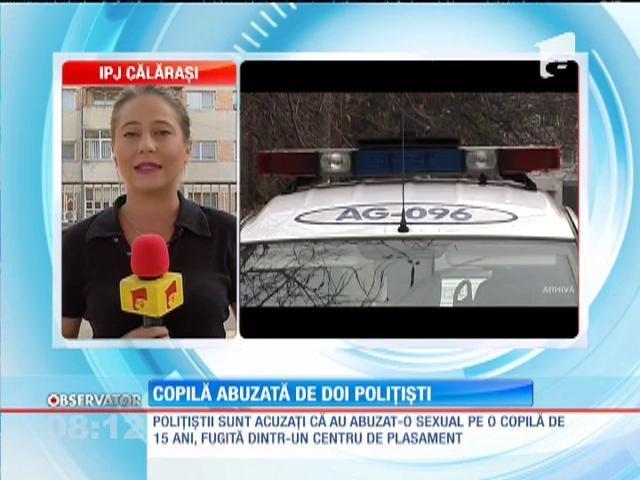 Călăraşi: O minoră a fost violată de doi poliţişti