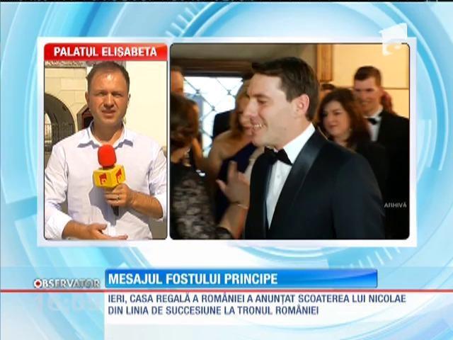 Nicolae, nepotul regelui Mihai: Poziția de principe impune un mod de a-mi conduce viața dificil de acceptat