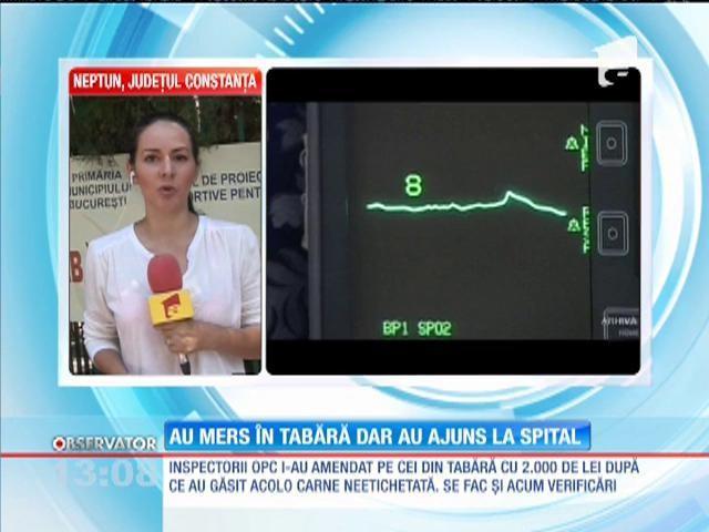 Constanța: Zeci de copii aflați în tabără la Neptun, spitalizați cu simptome de toxiinfecție alimentară