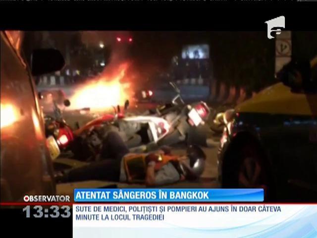 Thailanda: Poliția caută un suspect în atentatul de la Bangkok