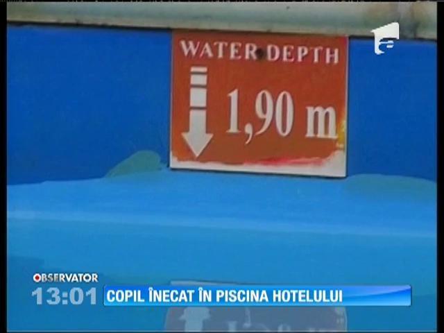 Staţiunea Venus: Un copil de şapte ani s-a înecat în piscina unui hotel