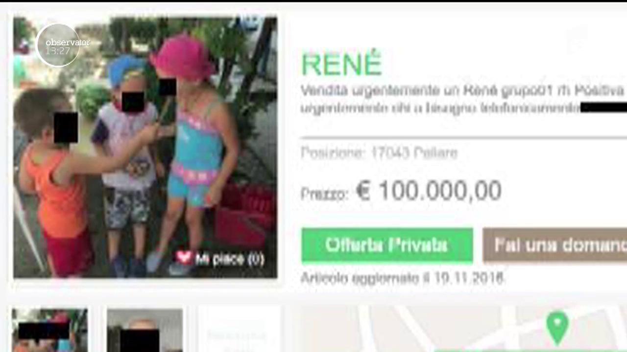 ANUNŢ CUTREMURĂTOR. O mamă româncă din Italia îşi vinde un rinichi pe 100.000 de euro ca să-şi întreţină cei trei copii