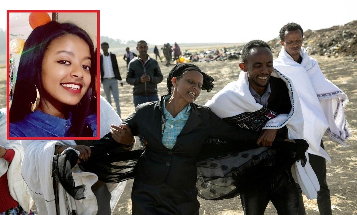 """Imagini sfâșietoare cu mama unei stewardese moarte în tragedia aviatică din Etiopia: """"De ce tocmai ea?"""""""