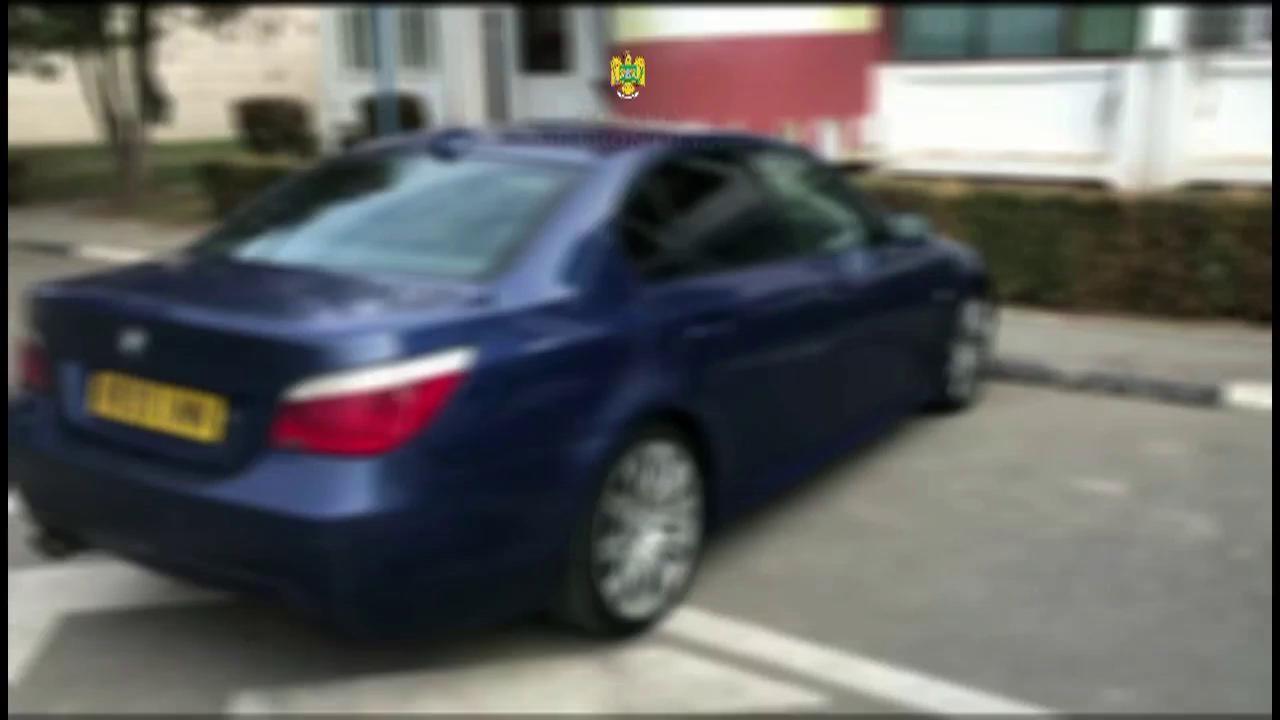 Tânăr din Teleorman strânge bani să-şi ia un BMW arătos din Anglia, rămâne fără el în vamă, la Nădlac (Video)