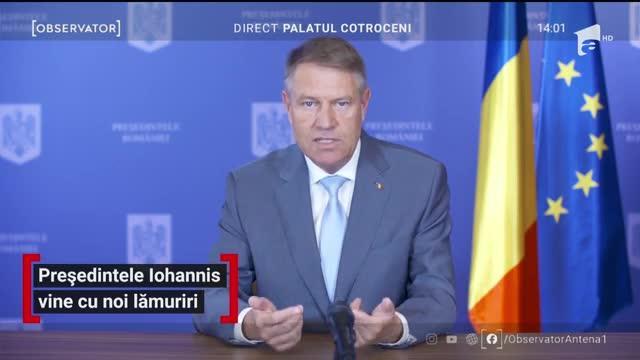 Klaus Iohannis: Suntem pe un trend ascendent al epidemiei. Distanțarea și măsurile de igienă, respectate cu sfințenie