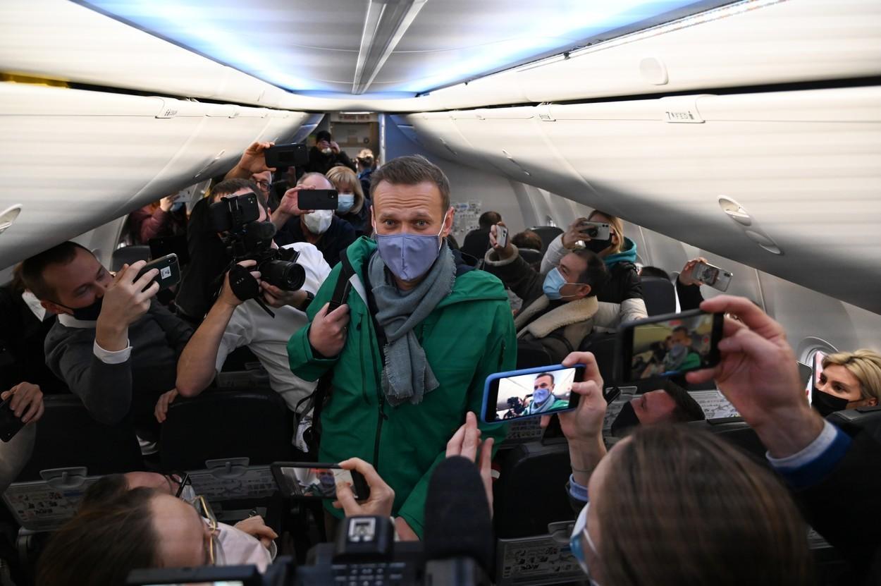 """Reacțiile oficialilor străini după arestarea lui Alexei Navalnîi la întoarcerea în Rusia: """"Pur și simplu nedemocratic"""""""