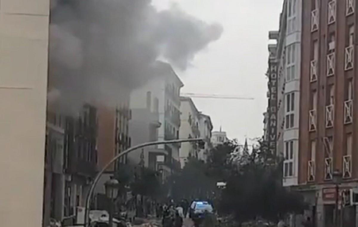 Explozie puternică în Madrid: trei persoane au murit, iar opt au fost rănite