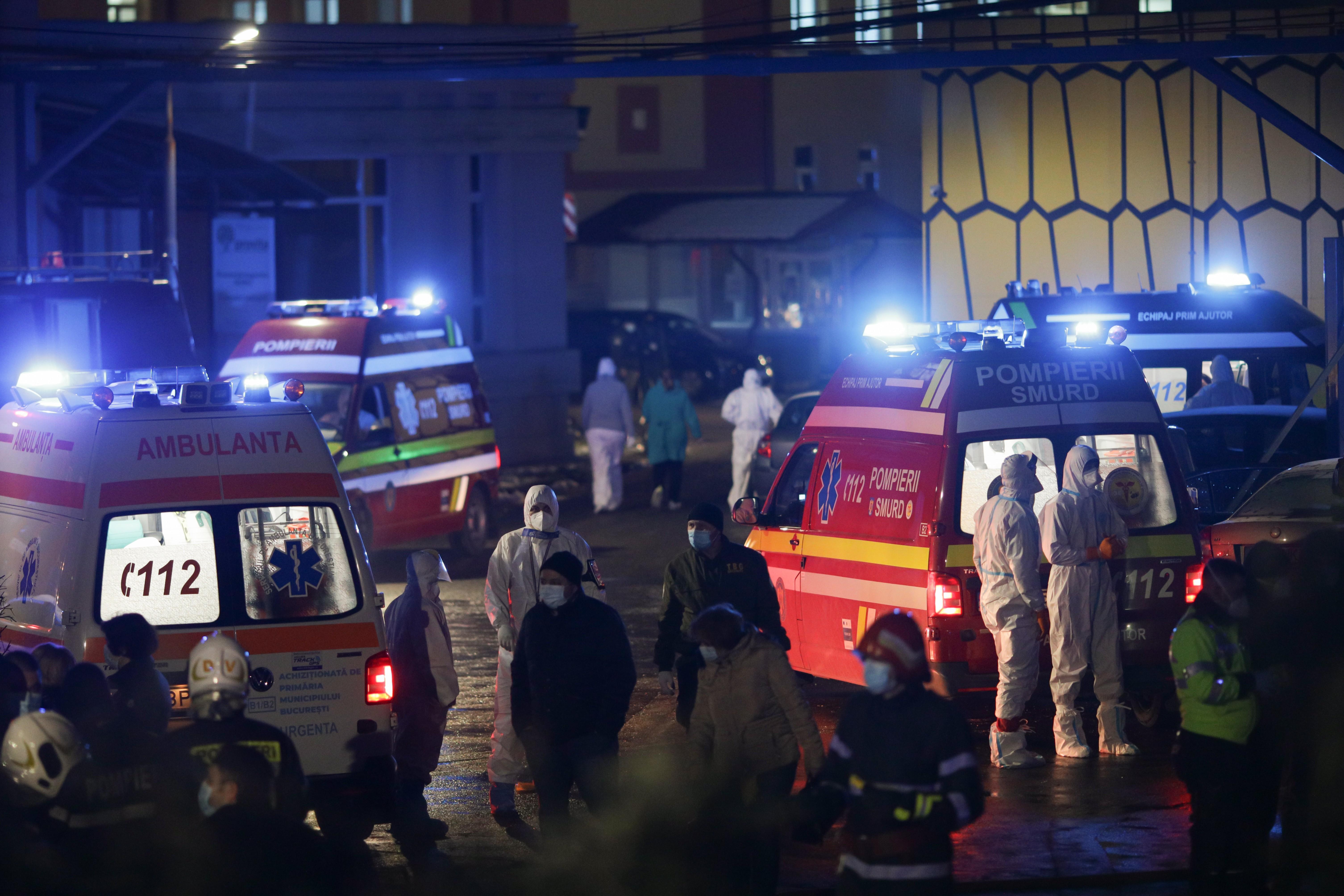 Incendiu la Matei Balş, bilanțul dezastrului a crescut la 5 morți. O persoană a fost găsită carbonizată într-o baie a spitalului