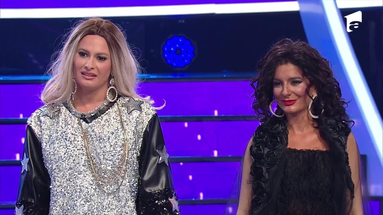 """Ana şi Raluka au câştigat cea de-a doua gală """"Te cunosc de undeva"""". VIDEO cu momentul lor"""