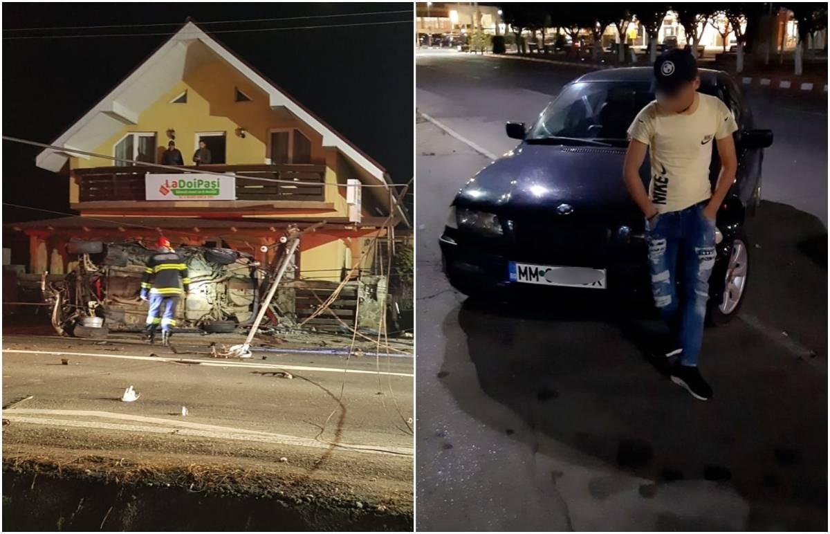 Tânăr de 22 de ani mort pe loc la Berbeşti, după ce a scăpat de sub control BMW-ul. Martorii, îngroziţi de privelişte