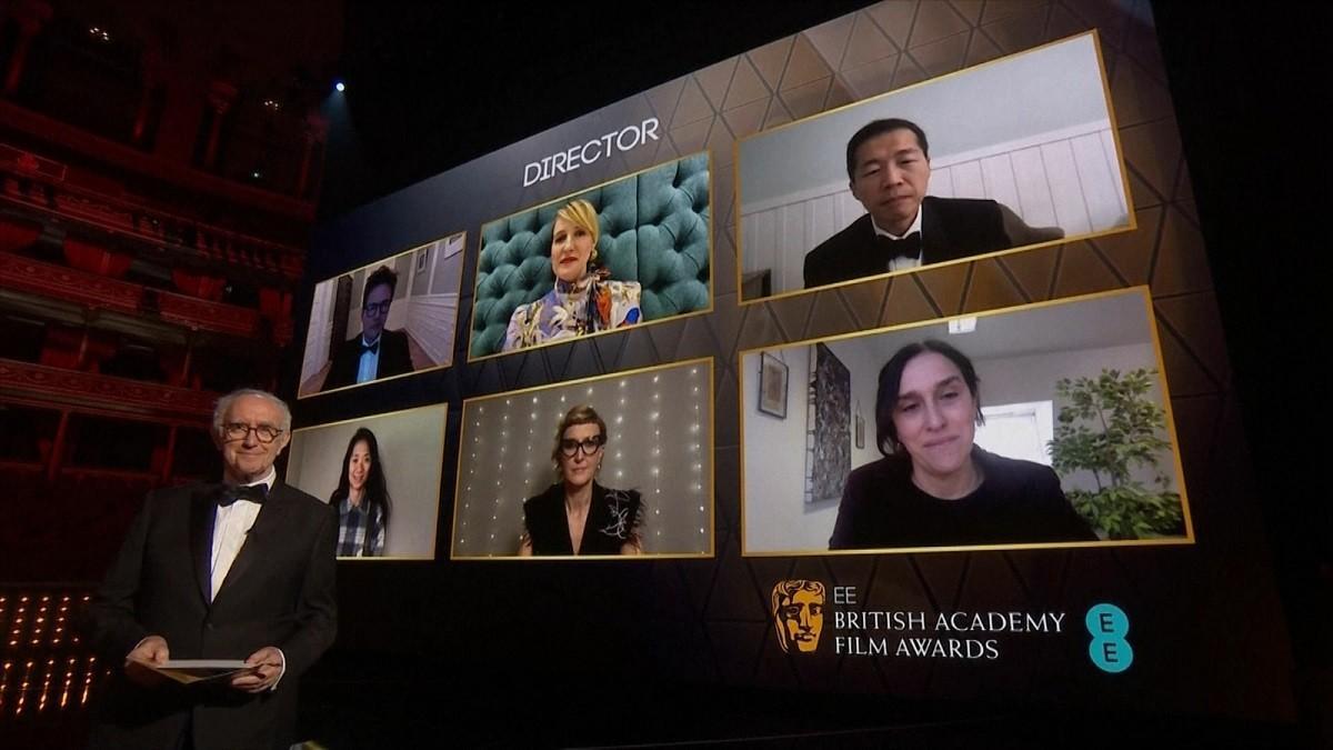 """Premiile BAFTA 2021. """"Nomadland"""", cel mai bun film. Anthony Hopkins a devenit cel mai vârstnic laureat"""