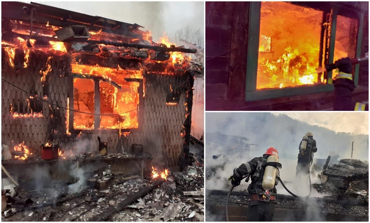 O familie întreagă a pierit în flăcări, în propria casă, cu o zi înainte de Florii. Tragedie teribilă la Vișeu de Sus, în Maramureș