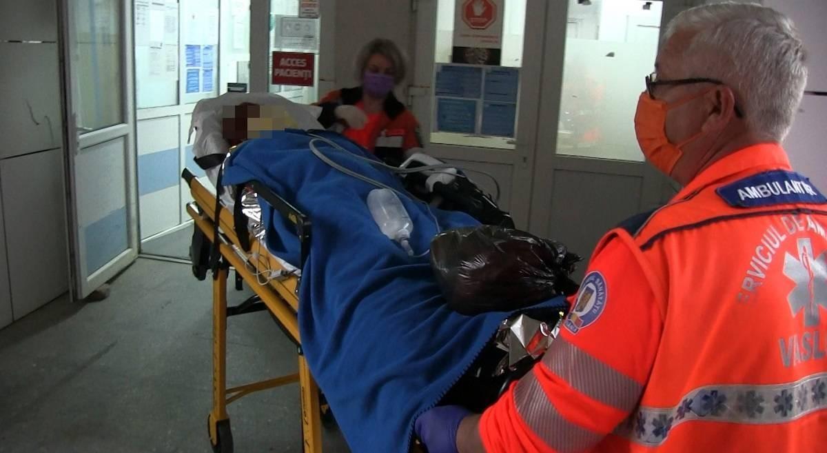 Un bărbat și-a incediat soția, în Vaslui. De frică, femeia nu a sunat la 112 şi a îndurat dureri cumplite mai bine de 24 de ore