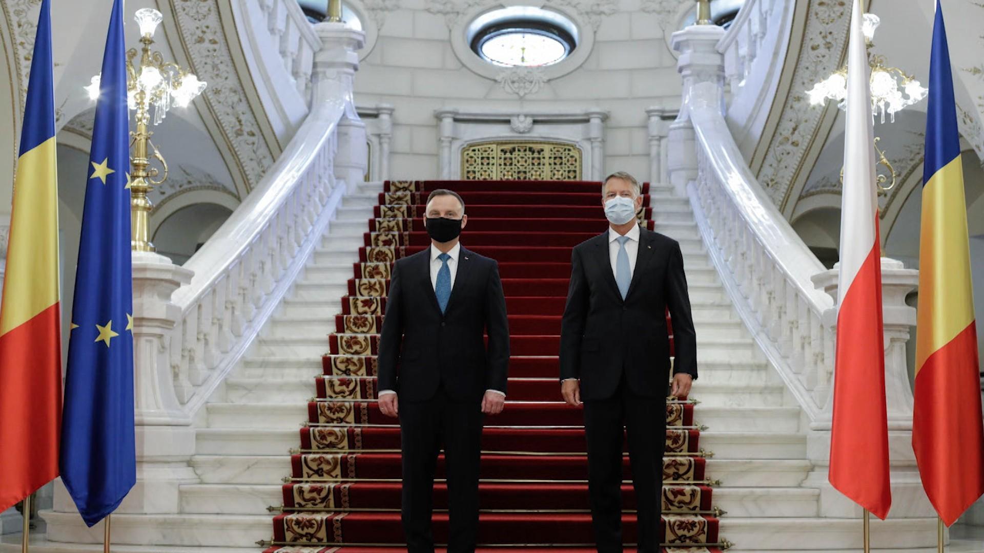 Joe Biden, preşedintele Statelor Unite ale Americii, participă la Summitul Formatului Bucureşti B9, prin videoconferinţă