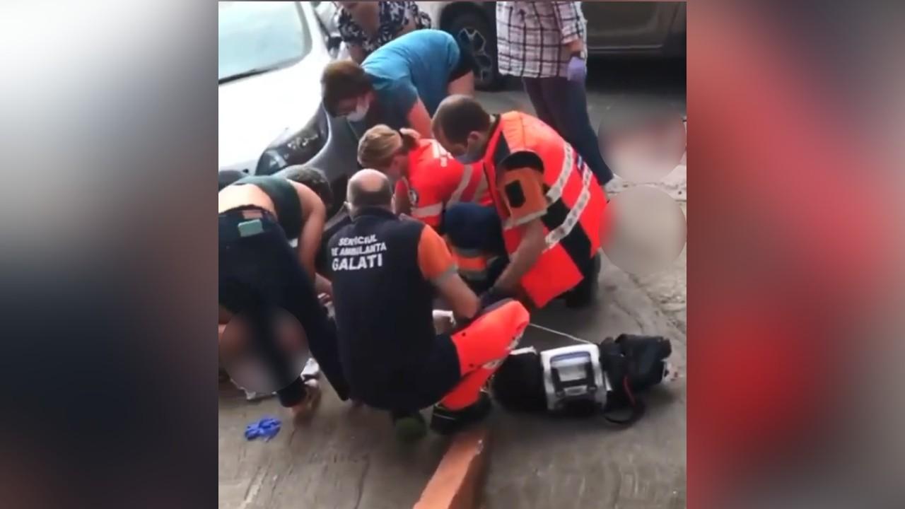 """Interlopul Gabi """"Șef"""" a murit după ce a fost înjunghiat în gât, în plină stradă, la Galați. Ucigașul a fost prins"""