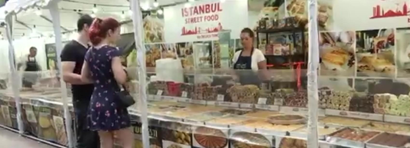 Festival culinar la Iaşi, după 2 ani de restricţii: delicatesele turceşti, la mare căutare în Copou