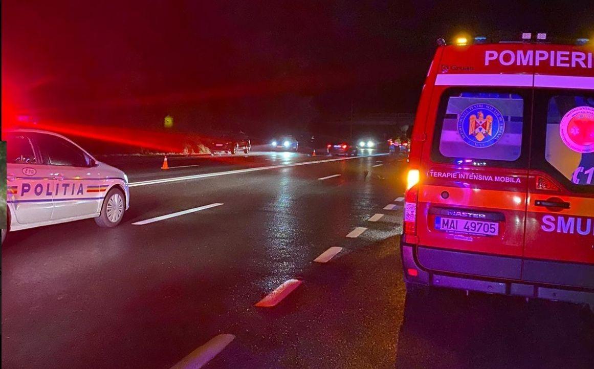 Un poliţist care abia ieşise din tură a accidentat mortal un bărbat care a traversat neregulamentar