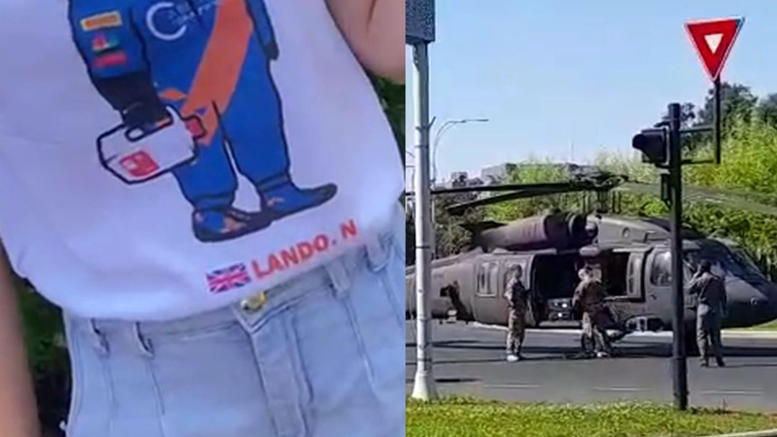 """Bucureștenii au privit îngroziți aterizarea forțată a elicopterului militar: """"Colega mea era cât pe ce să primească o paletă în faţă"""""""