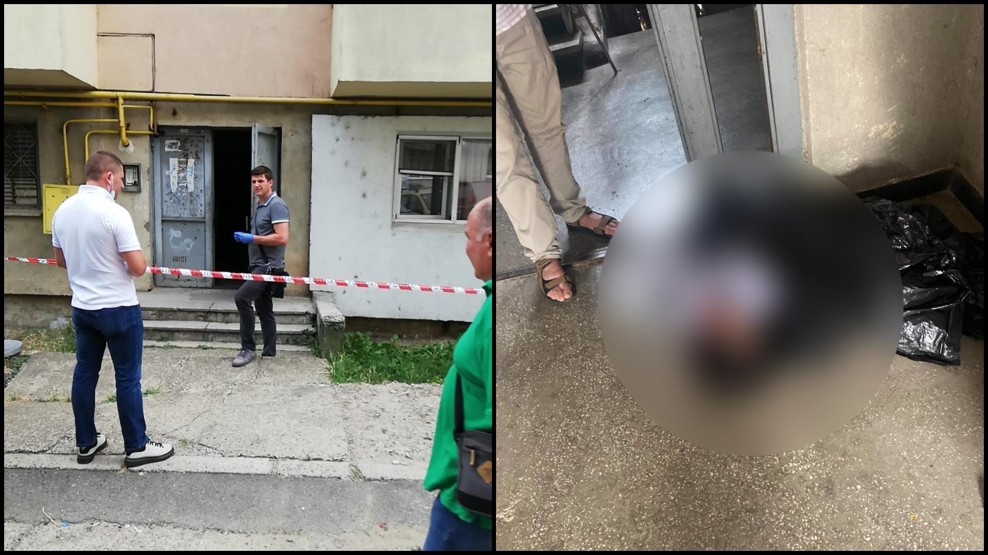 Femeie de 40 de ani, găsită aproape inconștientă într-un sac de plastic, pe scara unui bloc din Suceava