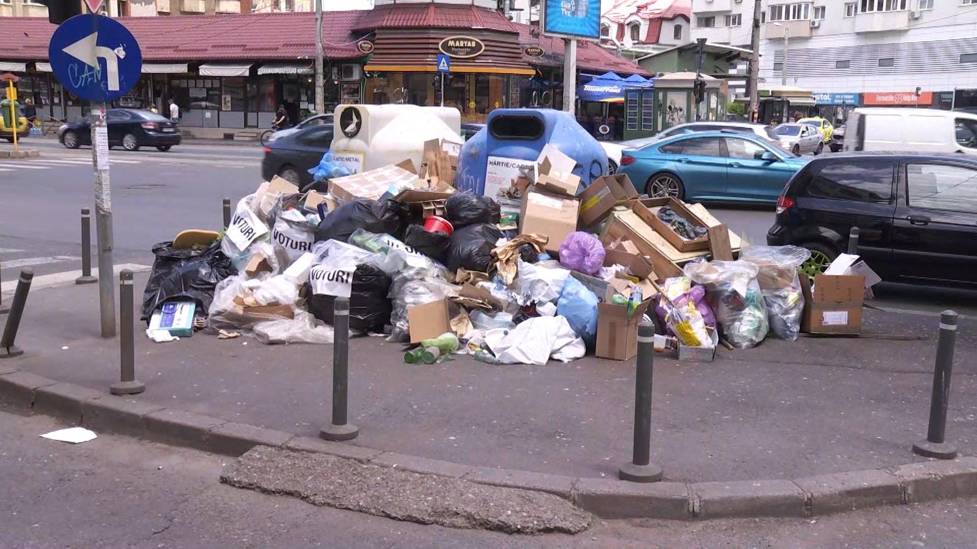 Prefectul Capitalei ia în calcul să declare stare de alertă în Sectorul 1 din cauza gunoaielor. S-au adunat mii de tone de deșeuri